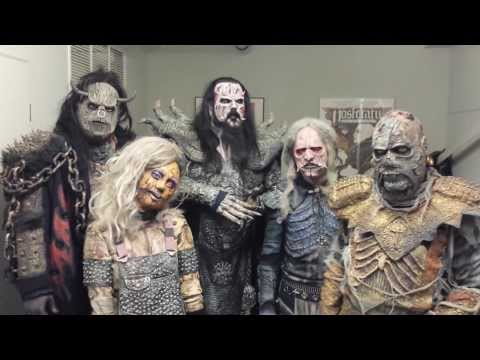 Lordi Wishes All A Happy New Year 2014