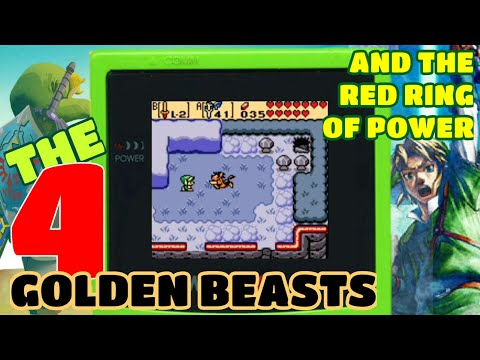 The Four Golden Beasts And The Red Ring Of Power! Oracle Of Seasons