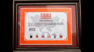 Đội nhạc kèn Võ Thành Trang xác lập kỷ lục Guinness Châu Á