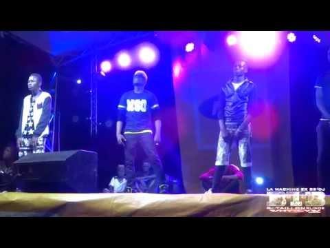 BB DJ LA MACHINE TUAGE AU CONCERT MTN