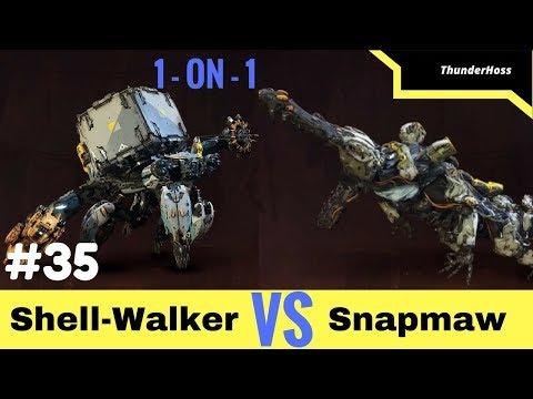 Horizon Zero Dawn - Shell-Walker VS Snapmaw (Horizon Fight Club #35)