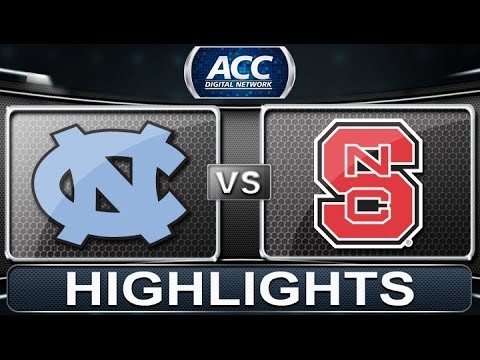 UNC vs NC State | 2014 ACC Basketball Highlights