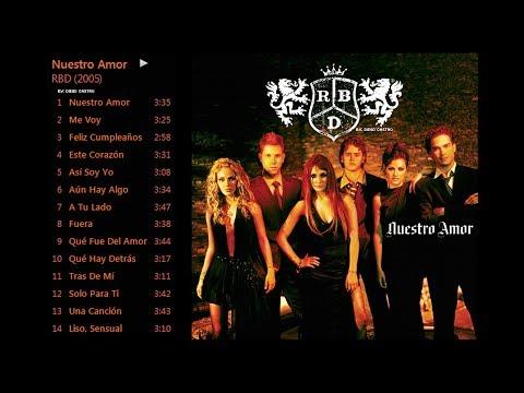 RBD - Nuestro Amor (Full Album + DL iTunes Plus)