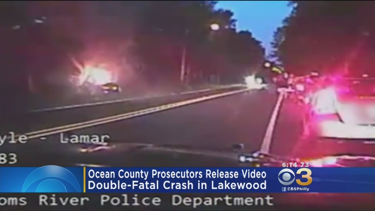 Ocean County Prosecutors Release Video Of Double-Fatal Crash In Lakewood