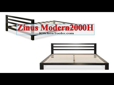 Zinus Modern Studio Platform 2000H Mattress Foundation