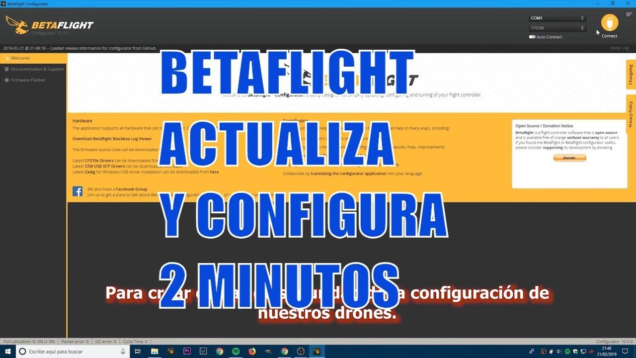 Copia Seguridad y Configura en 2 minutos  | DronAdictos