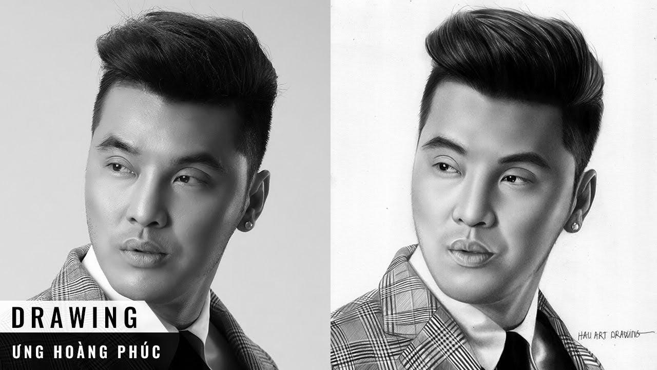 VẼ ÔNG TRÙM BÙI VIỆN | ƯNG HOÀNG PHÚC | ÔNG TRÙM 3 | HAU Art Drawing