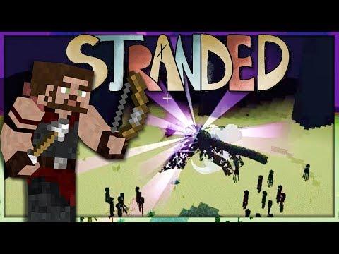 Enderdrache tot = Projekt Ende - Minecraft Forever Stranded - #47 - Items4Sacred + Miri33 + Balui
