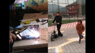 elektrikli scooter yapımı electric scooter making