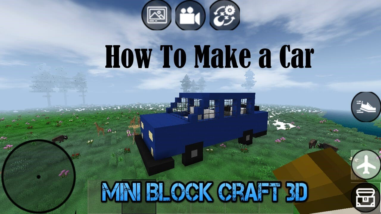 MİNİ BLOCK CRAFT 3D | Araba Yaptım - I Made a Car