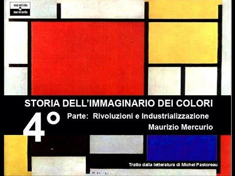 Maurizio Mercurio Storia dei Colori 4° Parte   Rivoluzioni e Industrializzazione