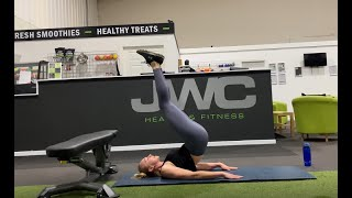 #CoachHeather 28minute strength focused session
