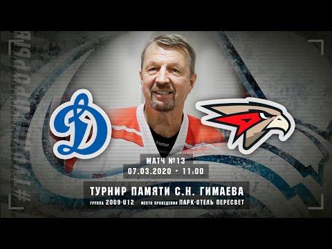 Динамо - Авангард, 2009-U12, 7 марта 2020 в 11:00 (MSK), Пересвет