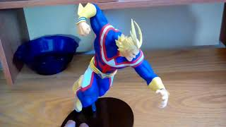 Smashing Review | Amazing Heroes Vol 5 All Might Figure Unboxing Review