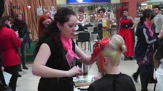 «Чарівну зачіску – 2015» обирали у Тернополі(Фахівці сфери краси зібрались 14 березня у «Подолянах», аби позмагатись за право першості. Справжня феєрія..., 2015-03-16T19:10:31.000Z)