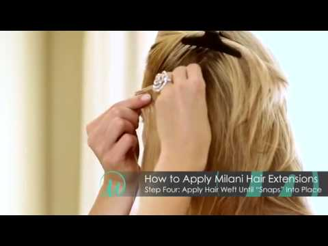 How to clip in milani hair extensions leyla milani hair youtube how to clip in milani hair extensions leyla milani hair pmusecretfo Gallery