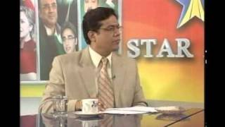 general Naseer Akhtar , Raja zulqarnain advocate & Ijaz Ahmed khan mpa with Ahsan zia in Studio one Star Asia,Punjab Tv  part 002