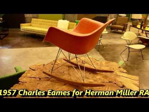 Charles Eames For Herman Miller RAR 1957 Rocker