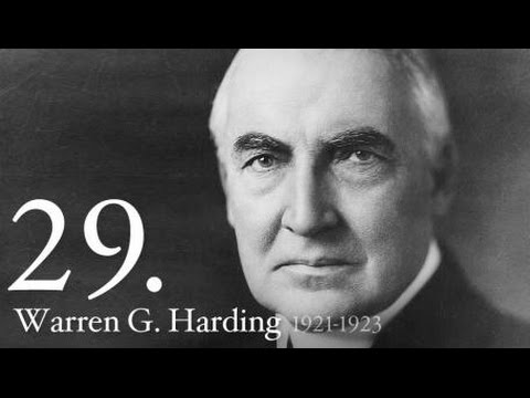 American Presidency Series: Warren Harding