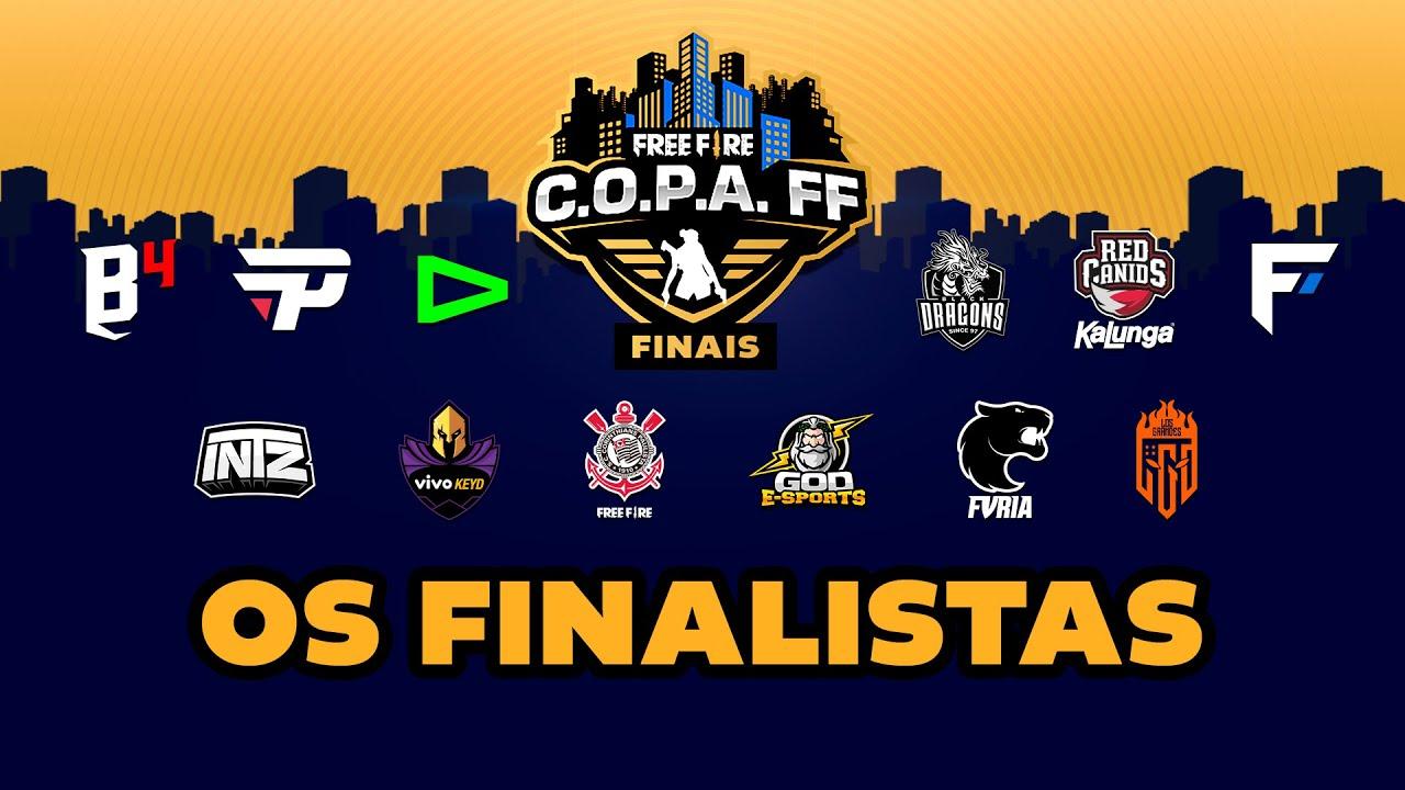 OS 12 FINALISTAS DA C.O.P.A. FF! | CLIPADAS Semana 9 #CopaFF