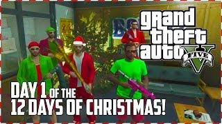 GTA 5 Online - North Yanktown Massacre! (Day 1 of 12) (GTA V)