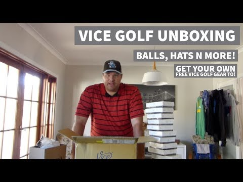 Vice Golf Gear Unboxing - Free Stuff for ME & YOU !!!!!