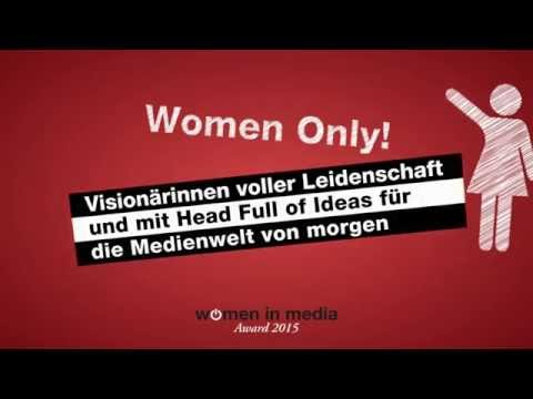 Women in Media Award 2015 (deutsche Version)