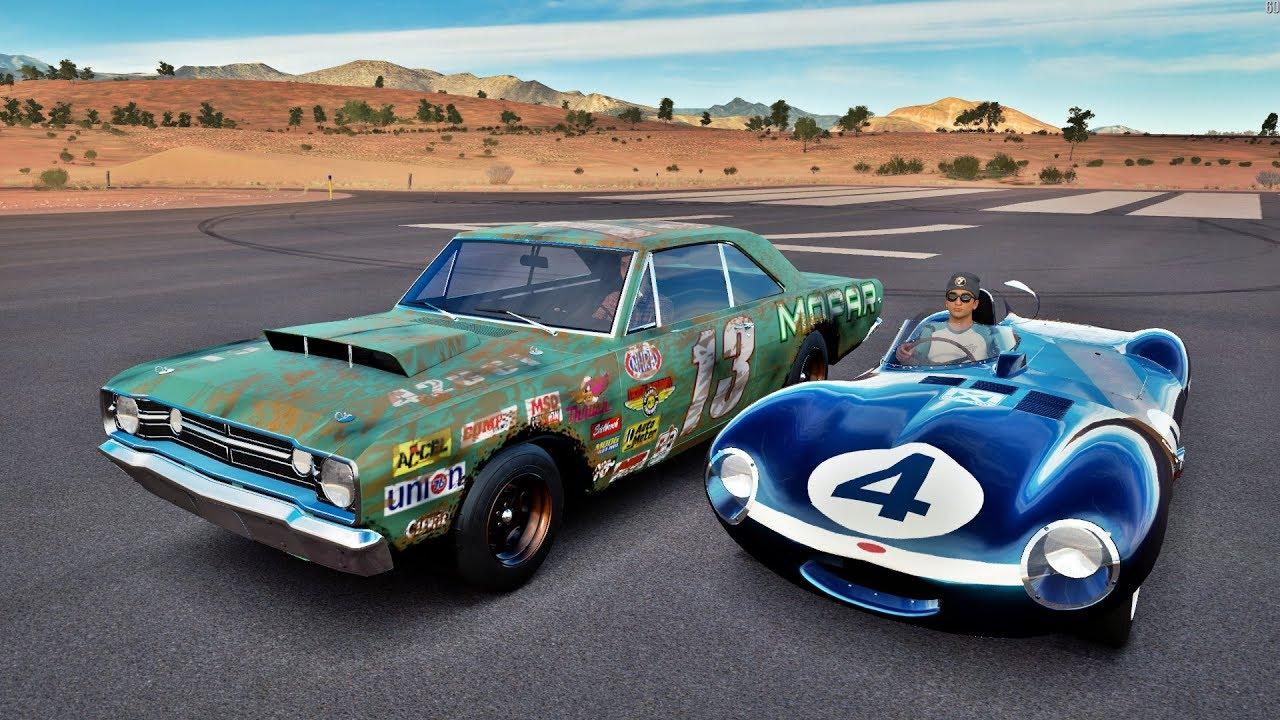 2017 Dodge Dart >> Forza Horizon 3 Online - Jaguar D-Type VS Dodge Dart - GoPro ‹ ZoiooGamer › - YouTube