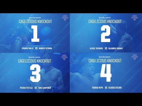 CAGELICIOUS KNOCKOUTS BY CASINO HELSINKI