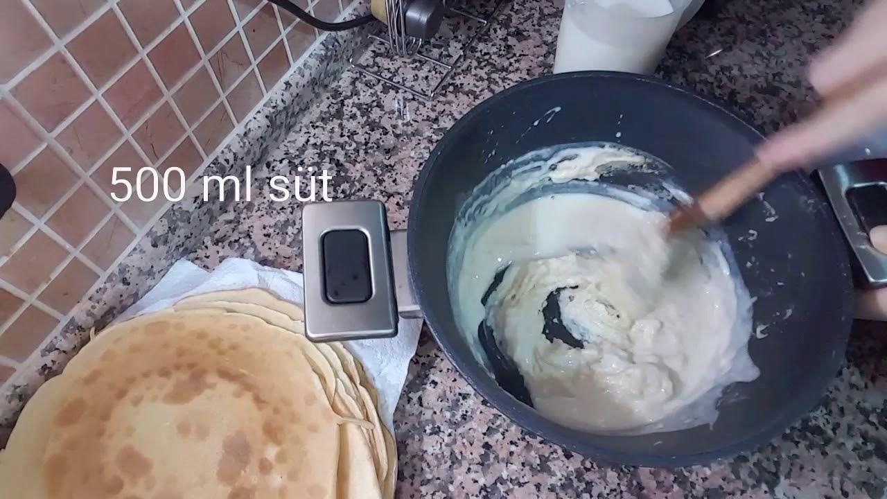 Etli Mantarlı Krep Sandviç – Uras Benlioğlu – Yemek Tarifleri