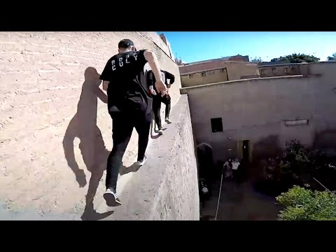 Knifeman Escape Rooftop POV