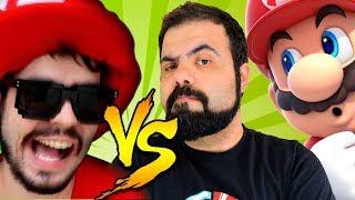 EU ASSISTI O PAI TROLL SOFRENDO NA MINHA FASE – Super Mario Maker (SUPER REACT)