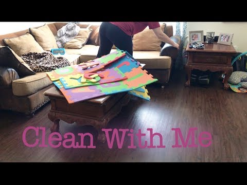 Clean With Me | Downstairs