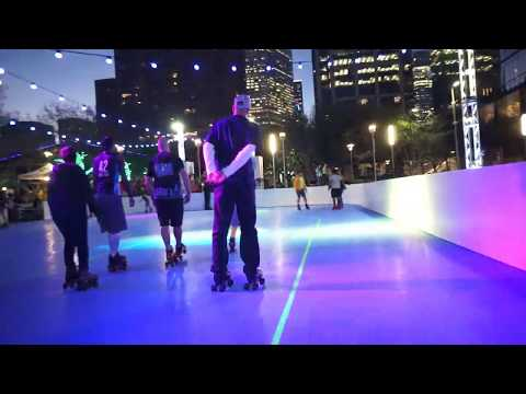Discovery Green Downtown Houston - Friday Night