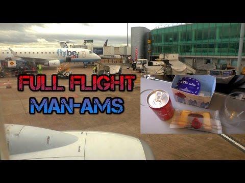 Full Flight KLM Manchester to Amstedam