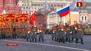 На Красной площади в Москве состоялся торжественный марш