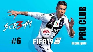 6 Scr3am Twitch Highlights 17 12 2018 Fifa 19 Pro Club PS4 By 3