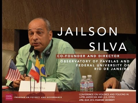 Jailson Silva, Towards a New Paradigm of Public Policy in Rio