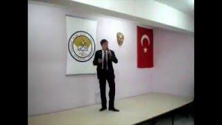 İstiklal Marşı Okuma Yarışması 1.si Harun Kayrakçı