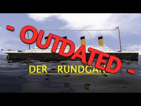 Minecraft RMS Titanic - Kompletter Rundgang