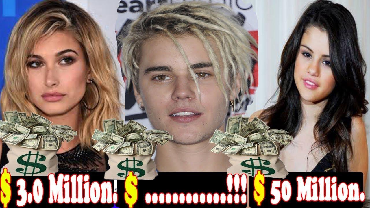 Justin Bieber Net Worth Vs Hailey Baldwin Net Worth Vs Selena Gomez Net Worth Youtube