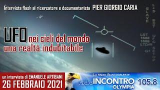 #UFO NEI CIELI DEL MONDO: una #realtà indubitabile - Intervista a Radio Olympia