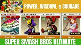 Super Smash Bros Ultimate Part 2 Spirit Board Event Earth, Wisdom, and Courage!