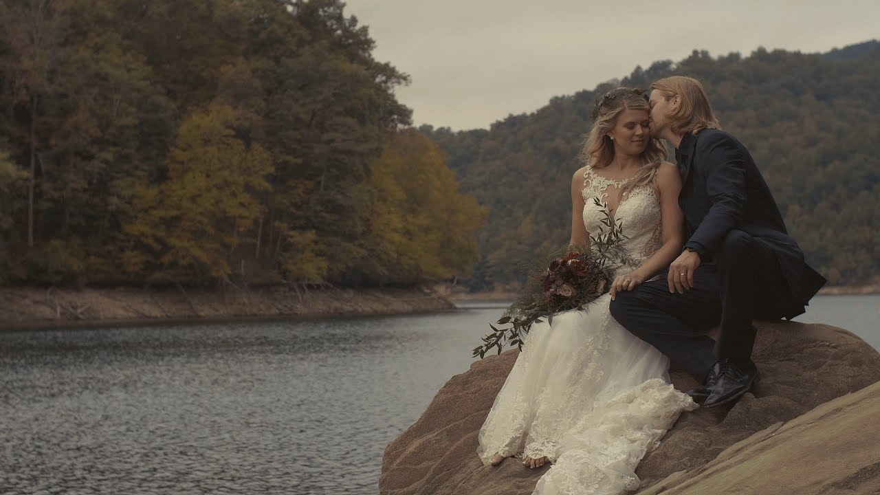 EMOTIONAL Adventurous Mountain Lake Wedding   Nantahala Weddings and Events - Topton, North Carolina