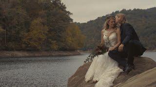 EMOTIONAL Adventurous Mountain Lake Wedding / Nantahala Weddings and Events - Topton, North Carolina