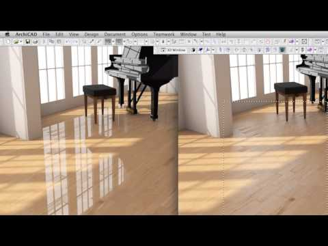 Creating A High-end Wood Surface Material In ARCHICAD