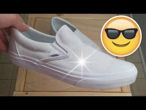 How To Clean White Vans 2019 EASY
