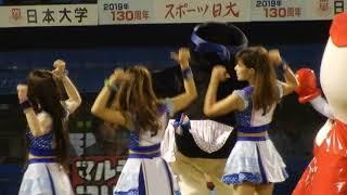 2017,9,12 神宮球場 パパイヤ鈴木8814 ヤクルトダンス