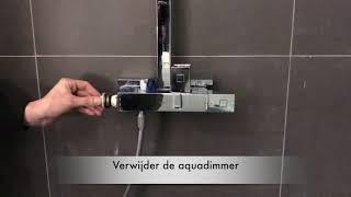 Aquadimmer vervangen in een thermostaatkraan