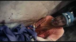 127 Hours Amputation scene full in which Aron Ralston (James Franco...